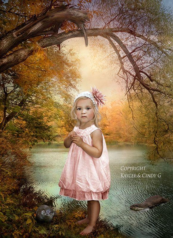 Très jolie petite fille