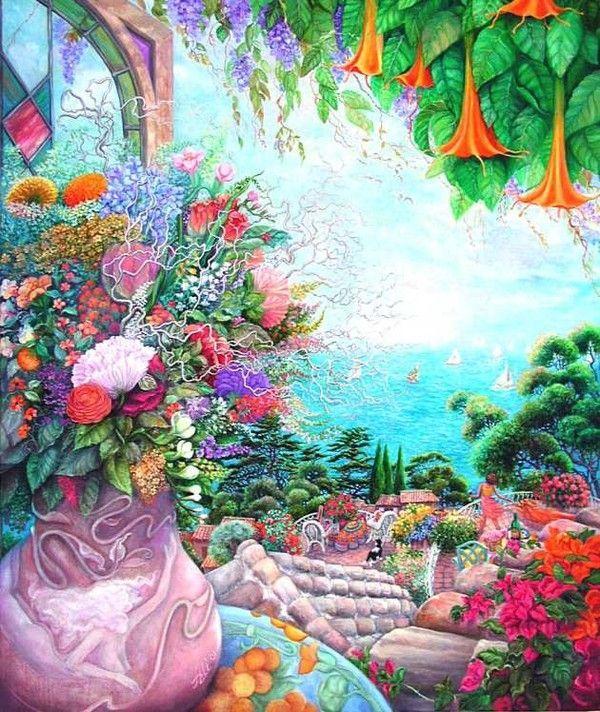 belles fleurs diverses