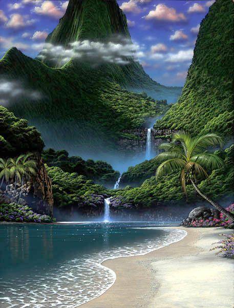 Jolie cascade