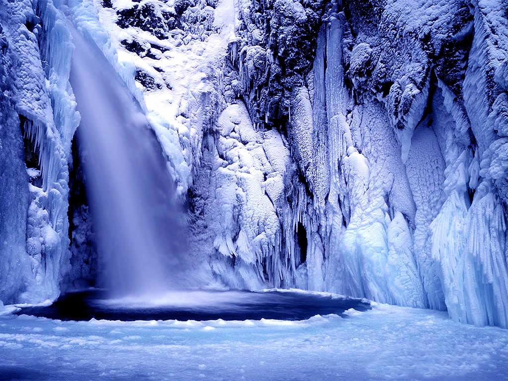 Belles images en bleu for Fond ecran hiver hd
